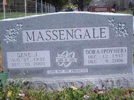 POYNER MASSENGALE, DORA - Boone County, Arkansas | DORA POYNER MASSENGALE - Arkansas Gravestone Photos