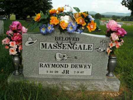 MASSENGALE, RAYMOND DEWEY JR. - Boone County, Arkansas | RAYMOND DEWEY JR. MASSENGALE - Arkansas Gravestone Photos