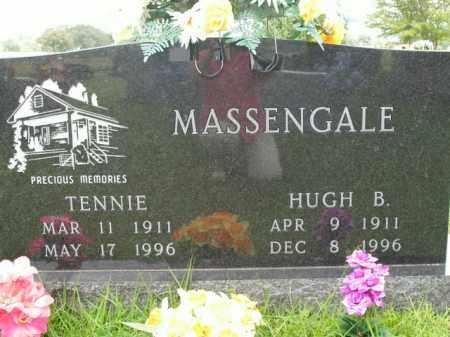 MASSENGALE, HUGH B. - Boone County, Arkansas   HUGH B. MASSENGALE - Arkansas Gravestone Photos