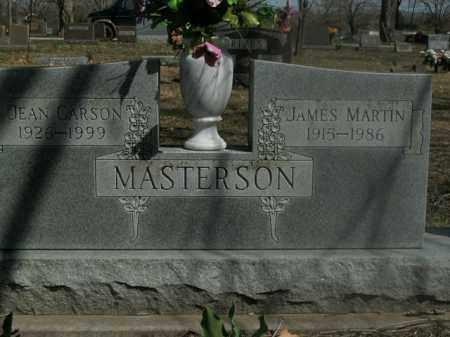 CARSON MASTERSON, JEAN - Boone County, Arkansas | JEAN CARSON MASTERSON - Arkansas Gravestone Photos