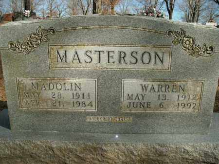MASTERSON, WARREN - Boone County, Arkansas | WARREN MASTERSON - Arkansas Gravestone Photos