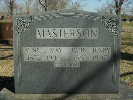 MASTERSON, MINNIE MAY - Boone County, Arkansas | MINNIE MAY MASTERSON - Arkansas Gravestone Photos