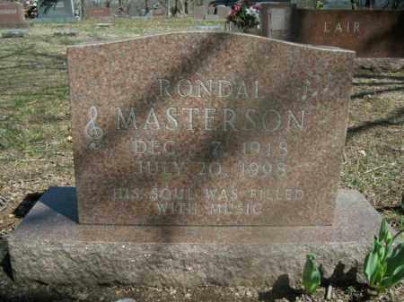 MASTERSON, RONDAL - Boone County, Arkansas   RONDAL MASTERSON - Arkansas Gravestone Photos