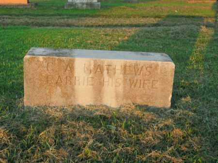 MATHEWS, C.A. - Boone County, Arkansas | C.A. MATHEWS - Arkansas Gravestone Photos