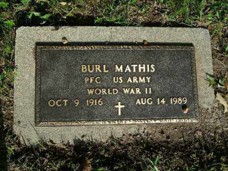 MATHIS  (VETERAN WWII), WILLIAM BURL - Boone County, Arkansas   WILLIAM BURL MATHIS  (VETERAN WWII) - Arkansas Gravestone Photos