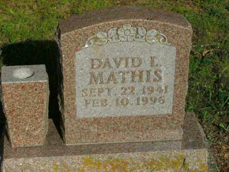 MATHIS, DAVID L. - Boone County, Arkansas | DAVID L. MATHIS - Arkansas Gravestone Photos