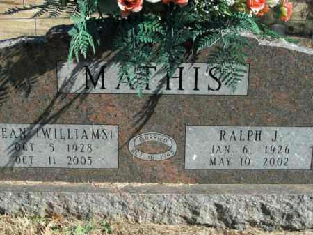 MATHIS, JEAN - Boone County, Arkansas | JEAN MATHIS - Arkansas Gravestone Photos
