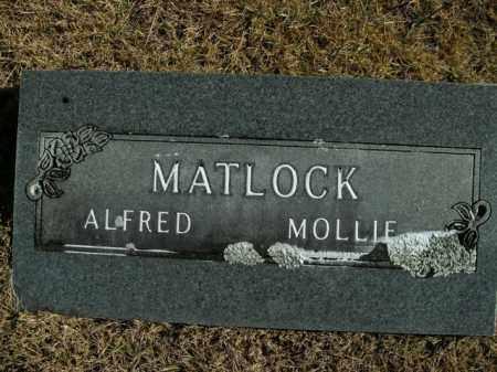 MATLOCK, MOLLIE - Boone County, Arkansas   MOLLIE MATLOCK - Arkansas Gravestone Photos