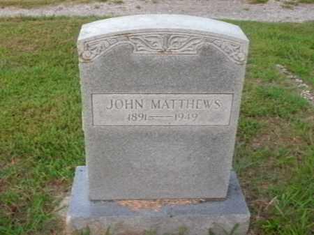 MATTHEWS, JOHN - Boone County, Arkansas   JOHN MATTHEWS - Arkansas Gravestone Photos