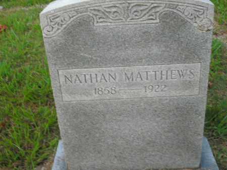 MATTHEWS, NATHAN - Boone County, Arkansas   NATHAN MATTHEWS - Arkansas Gravestone Photos