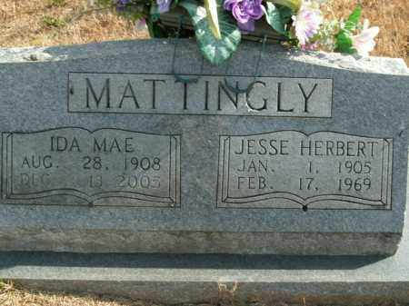 MATTINGLY, IDA MAE - Boone County, Arkansas | IDA MAE MATTINGLY - Arkansas Gravestone Photos