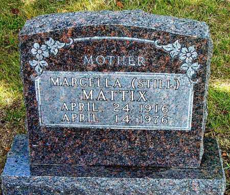 STILL MATTIX, MARCELLA - Boone County, Arkansas | MARCELLA STILL MATTIX - Arkansas Gravestone Photos