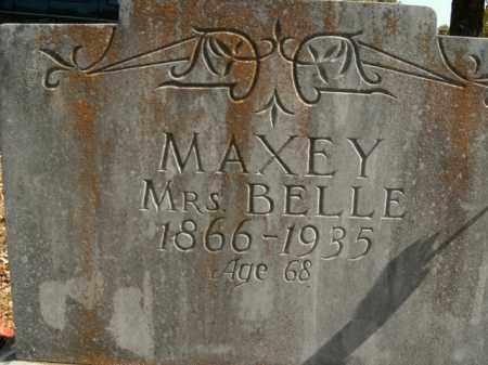 MAXEY, BELLE - Boone County, Arkansas   BELLE MAXEY - Arkansas Gravestone Photos