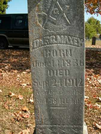 MAXEY, DR. F.C. - Boone County, Arkansas | DR. F.C. MAXEY - Arkansas Gravestone Photos