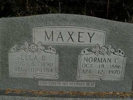 MAXEY, ELLA B. - Boone County, Arkansas | ELLA B. MAXEY - Arkansas Gravestone Photos