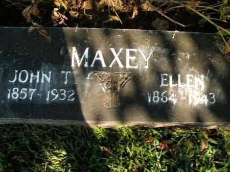 MAXEY, JOHN T. - Boone County, Arkansas | JOHN T. MAXEY - Arkansas Gravestone Photos