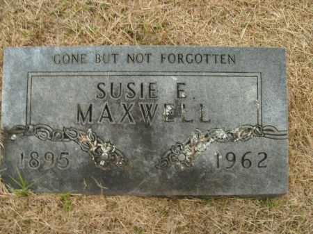 MAXWELL, SUSIE ELLEN - Boone County, Arkansas | SUSIE ELLEN MAXWELL - Arkansas Gravestone Photos
