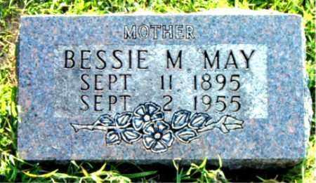 MAY, BESSIE  M. - Boone County, Arkansas   BESSIE  M. MAY - Arkansas Gravestone Photos