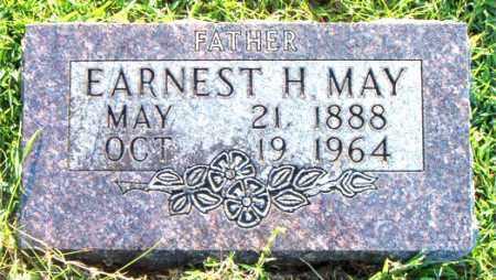 MAY, EARNEST  H. - Boone County, Arkansas   EARNEST  H. MAY - Arkansas Gravestone Photos