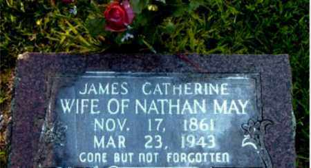 MAY, JAMES CATHERINE - Boone County, Arkansas   JAMES CATHERINE MAY - Arkansas Gravestone Photos