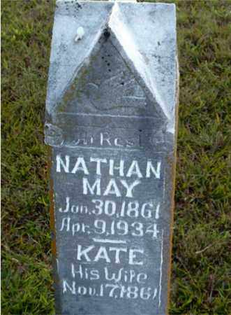 MAY, NATHAN - Boone County, Arkansas | NATHAN MAY - Arkansas Gravestone Photos