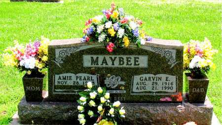 MAYBEE, GARVIN E. - Boone County, Arkansas   GARVIN E. MAYBEE - Arkansas Gravestone Photos
