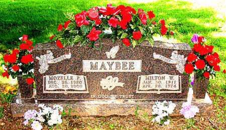 MAYBEE, MILTON W. - Boone County, Arkansas | MILTON W. MAYBEE - Arkansas Gravestone Photos