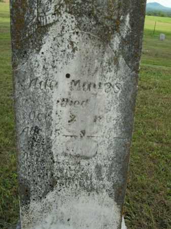 MAYES, ADA - Boone County, Arkansas | ADA MAYES - Arkansas Gravestone Photos