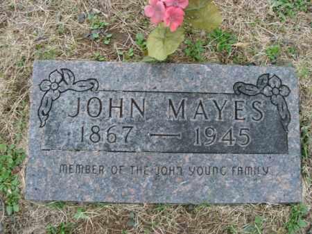 MAYES, JOHN - Boone County, Arkansas | JOHN MAYES - Arkansas Gravestone Photos