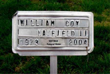 MAYFIELD, II, WILLIAM COY - Boone County, Arkansas | WILLIAM COY MAYFIELD, II - Arkansas Gravestone Photos