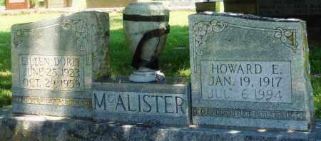 MCALISTER, HOWARD E - Boone County, Arkansas | HOWARD E MCALISTER - Arkansas Gravestone Photos