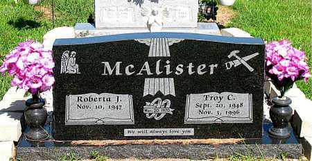 MCALISTER, TROY C. - Boone County, Arkansas | TROY C. MCALISTER - Arkansas Gravestone Photos