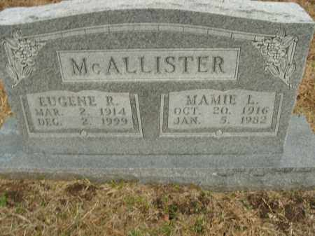 MCALLISTER, MAMIE L. - Boone County, Arkansas | MAMIE L. MCALLISTER - Arkansas Gravestone Photos