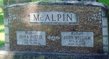 MCALPIN, DORA BELLE - Boone County, Arkansas | DORA BELLE MCALPIN - Arkansas Gravestone Photos