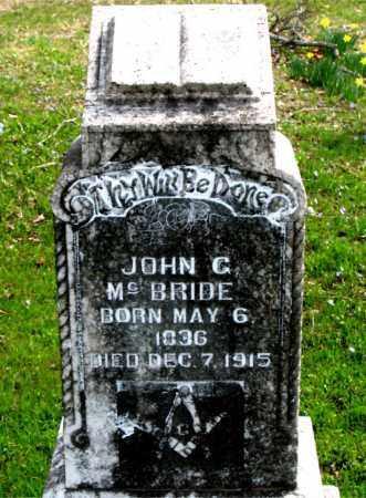 MCBRIDE, JOHN  C. - Boone County, Arkansas   JOHN  C. MCBRIDE - Arkansas Gravestone Photos