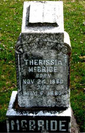 MCBRIDE, THERISSIA - Boone County, Arkansas | THERISSIA MCBRIDE - Arkansas Gravestone Photos