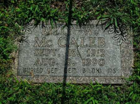 MCCALEB (VETERAN WWII), BILLY WOODROW - Boone County, Arkansas | BILLY WOODROW MCCALEB (VETERAN WWII) - Arkansas Gravestone Photos