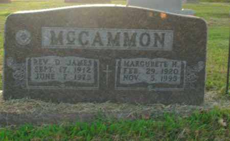 MCCAMMON, MARGURETE H. - Boone County, Arkansas | MARGURETE H. MCCAMMON - Arkansas Gravestone Photos