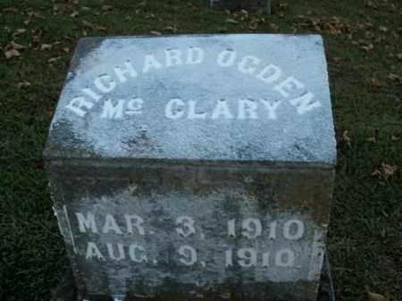 MCCLARY, RICHARD OGDEN - Boone County, Arkansas | RICHARD OGDEN MCCLARY - Arkansas Gravestone Photos