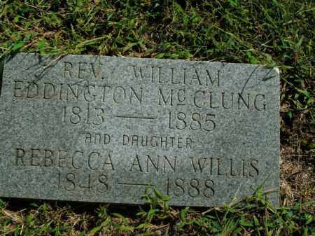 WILLIS WILLIS, REBECCA ANN - Boone County, Arkansas | REBECCA ANN WILLIS WILLIS - Arkansas Gravestone Photos