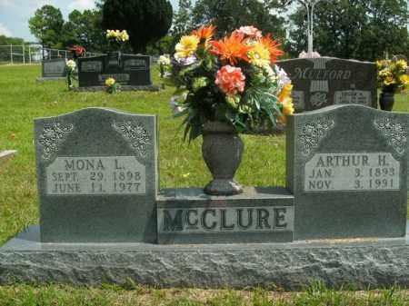 MCCLURE, MONA L. - Boone County, Arkansas   MONA L. MCCLURE - Arkansas Gravestone Photos