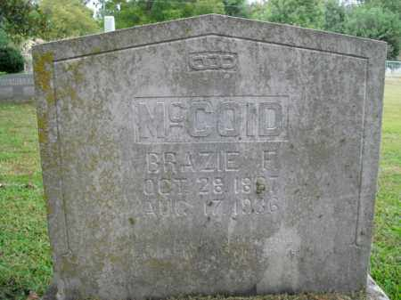 MCCOID, BRAZIE F. - Boone County, Arkansas | BRAZIE F. MCCOID - Arkansas Gravestone Photos