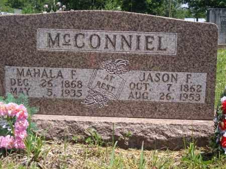 MCCONNIEL, MAHALA F. - Boone County, Arkansas | MAHALA F. MCCONNIEL - Arkansas Gravestone Photos