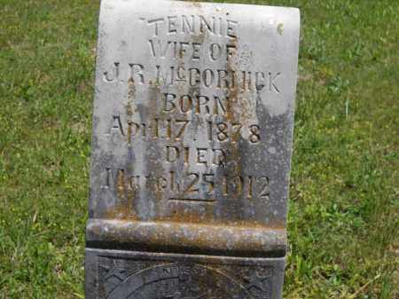 MCCORMICK, TENNIE - Boone County, Arkansas | TENNIE MCCORMICK - Arkansas Gravestone Photos