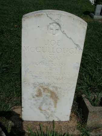 MCCULLOUGH  (VETERAN), JOE - Boone County, Arkansas | JOE MCCULLOUGH  (VETERAN) - Arkansas Gravestone Photos