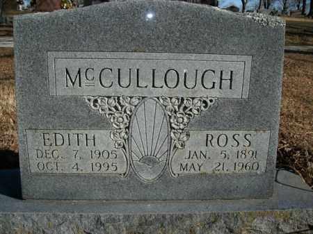 MCCULLOUGH, EDITH - Boone County, Arkansas | EDITH MCCULLOUGH - Arkansas Gravestone Photos