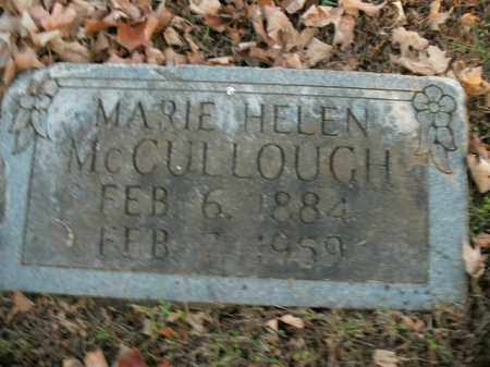 MCCULLOUGH, MARIE HELEN - Boone County, Arkansas | MARIE HELEN MCCULLOUGH - Arkansas Gravestone Photos