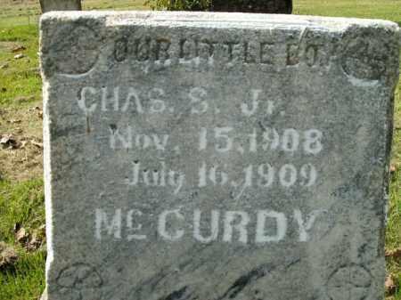 MCCURDY, CHARLES S. JR - Boone County, Arkansas | CHARLES S. JR MCCURDY - Arkansas Gravestone Photos