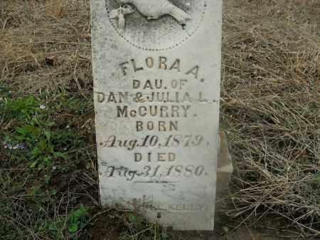 MCCURRY, FLORA A. - Boone County, Arkansas | FLORA A. MCCURRY - Arkansas Gravestone Photos