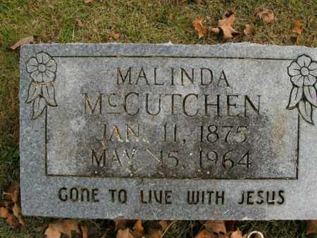 MCCUTCHEN, MALINDA - Boone County, Arkansas | MALINDA MCCUTCHEN - Arkansas Gravestone Photos